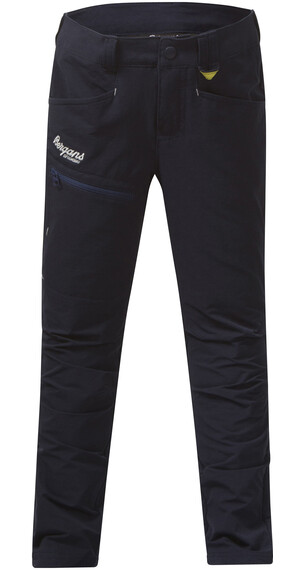 Bergans Kids Utne Pant Navy/Lemon/White